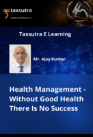 Health Management - Without Good Health There Is No Success