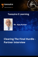 Clearing The Final Hurdle - Partner Interview