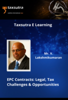 EPC Contracts: Legal, Tax Challenges & Opportunities