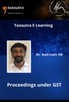 Proceedings under GST