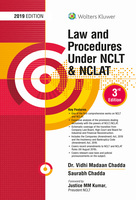 Law and Procedures under NCLT & NCLAT