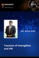 Taxation of Intangibles and IPR