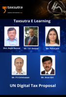 "Taxsutra Presents Panel Discussion on ""UN Digital Tax Proposal"""