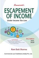 Escapement of Income (Under Income Tax Law)