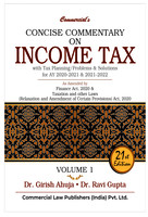 Concise Commentary on Income Tax (Set of 2 Volumes - 2020 Edition)