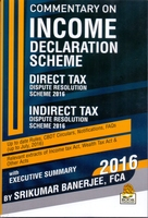 Commentary on Income Declaration Scheme, 2016