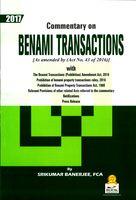 Commentary On Benami Transactions