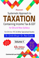 Systematic Approach to Taxation (Set of 2 Vol.)