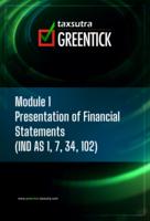 Module I - Presentation of Financial Statements by CA Parag Kulkarni