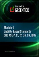 Module IV - Liability Based Standards by CA Parag Kulkarni