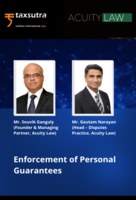 Enforcement of Personal Guarantees