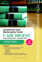 Insolvency and Bankruptcy Code : Case Digest Annual (January 2019 - December 2019)