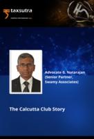 The Calcutta Club Story