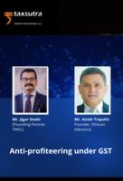 Anti-profiteering under GST