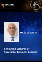 5 Winning Mantras of Successful Business Leaders