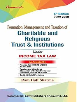 Formation, Management And Taxation of Charitable Trust & Institutions