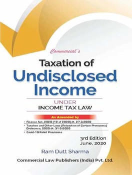 Taxation Of Undisclosed Income (Under Income Tax Law)