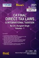 Capsule Studies on Direct Tax Laws & International Taxation (in 2 vols.)