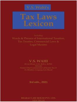 Tax Laws Lexicon