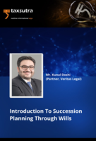Introduction To Succession Planning Through Wills