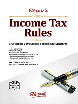Bharat's Income Tax Rules - 30th Edition