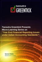 Year End Financial Reporting Issues under Indian Accounting Standards