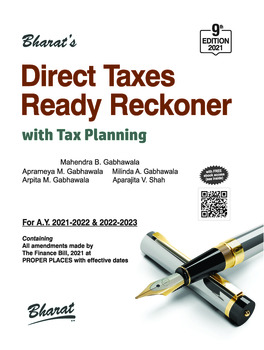 Bharat's Direct Taxes Ready Reckoner - 9th Edition