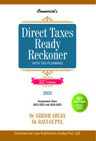 Commercial's Direct Taxes Ready Reckoner - 22nd Edition