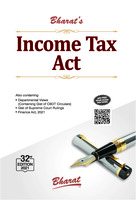 Bharat's Income Tax Act - 32nd Edition