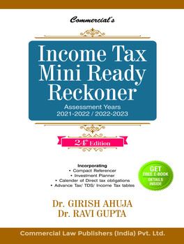 Commercial's Income Tax Mini Ready Reckoner - 24th Edition