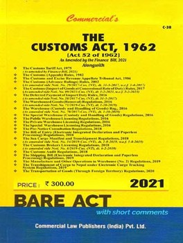 The Customs Act, 1962