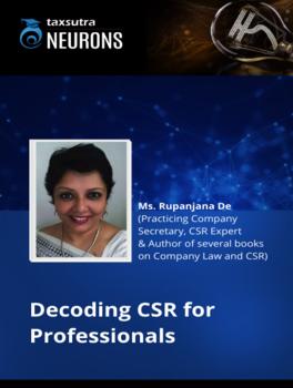 Decoding CSR for Professionals