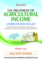 Tax Treatment Of Agricultural Income