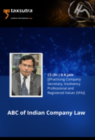 ABC of Indian Company Law
