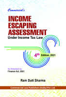 Income Escaping Assessment Under Income Tax Law