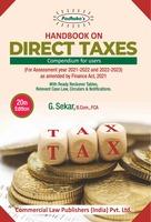 Handbook on Direct Taxes 2021