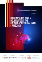 IFA - Contemporary Issues Deliberated At The IFA India APAC Virtual Event- June 2021