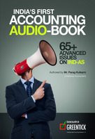 India's First Accounting Audio-Book : 65+ Advanced Issues on IND-AS