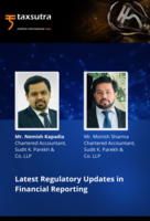 Latest Regulatory Updates in Financial Reporting