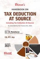 Handbook on Tax Deduction At Source
