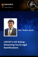 CESTAT's VCF Ruling – Dissecting Tax & Legal Ramifications