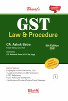 GST Law & Procedure (Set of 3 Volumes) - 5th Edition