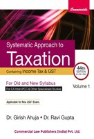 Systematic Approach to Taxation (44th Edition) (Set of 2 Volumes)